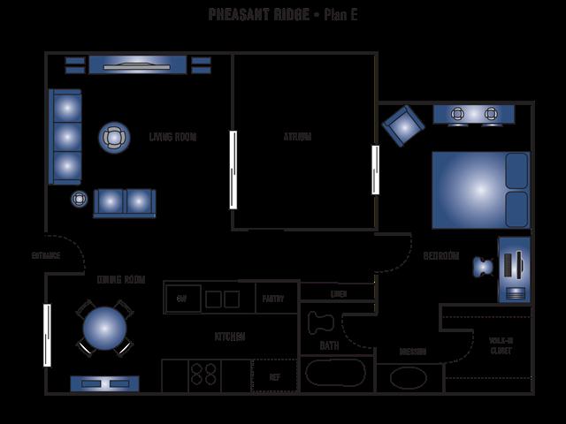 Plan E Floor Plan 5