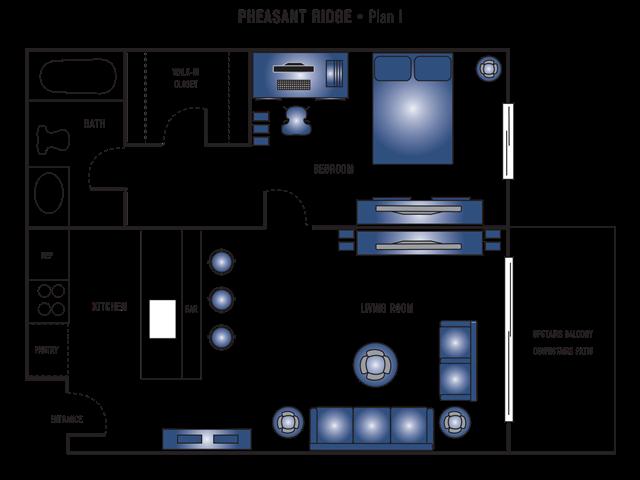 Plan I Floor Plan 1