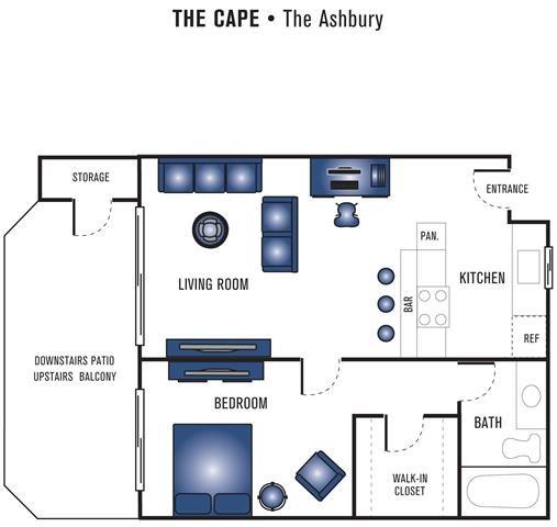 The Ashbury Floor Plan 1