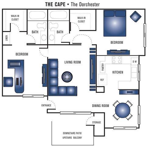 The Dorchester Floor Plan 4