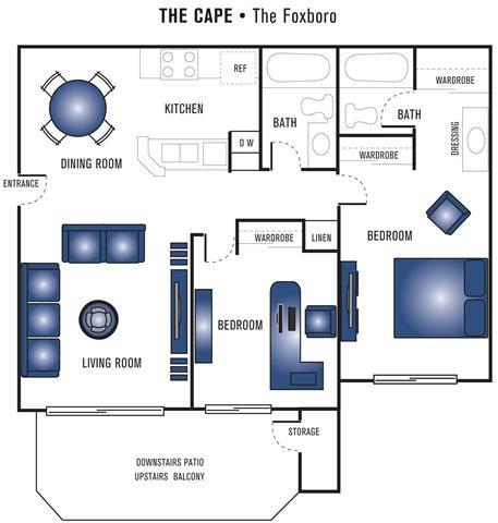 The Foxboro Floor Plan 3