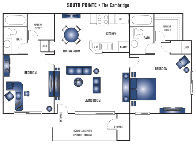 Cambridge Floor Plan 5