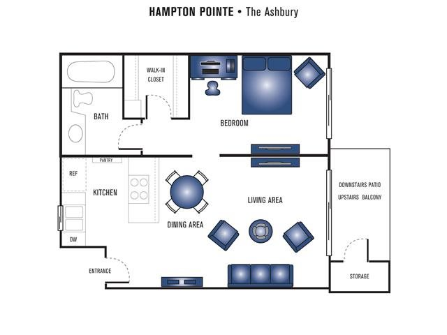 The Ashbury Floor Plan 1