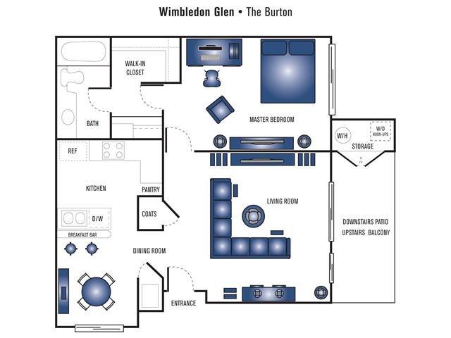 The Burton Floor Plan 2