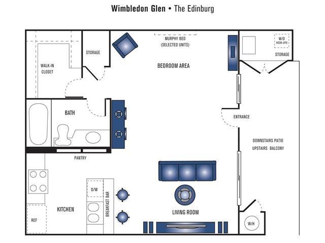 The Edinburg Floor Plan 1