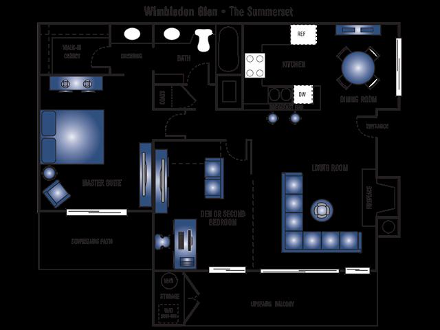 The Summerset F1 Floor Plan 3