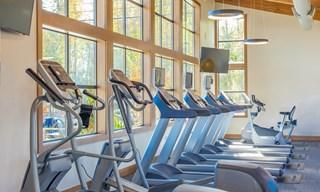 Sawyer Trail Fitness Center Ellipticals