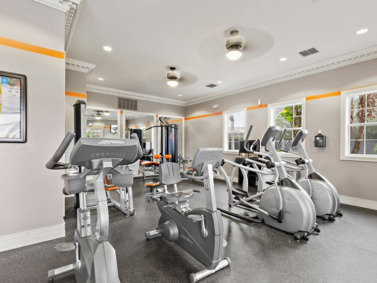 Multi-Level Fitness Center  at Savannah at Park Central, Orlando