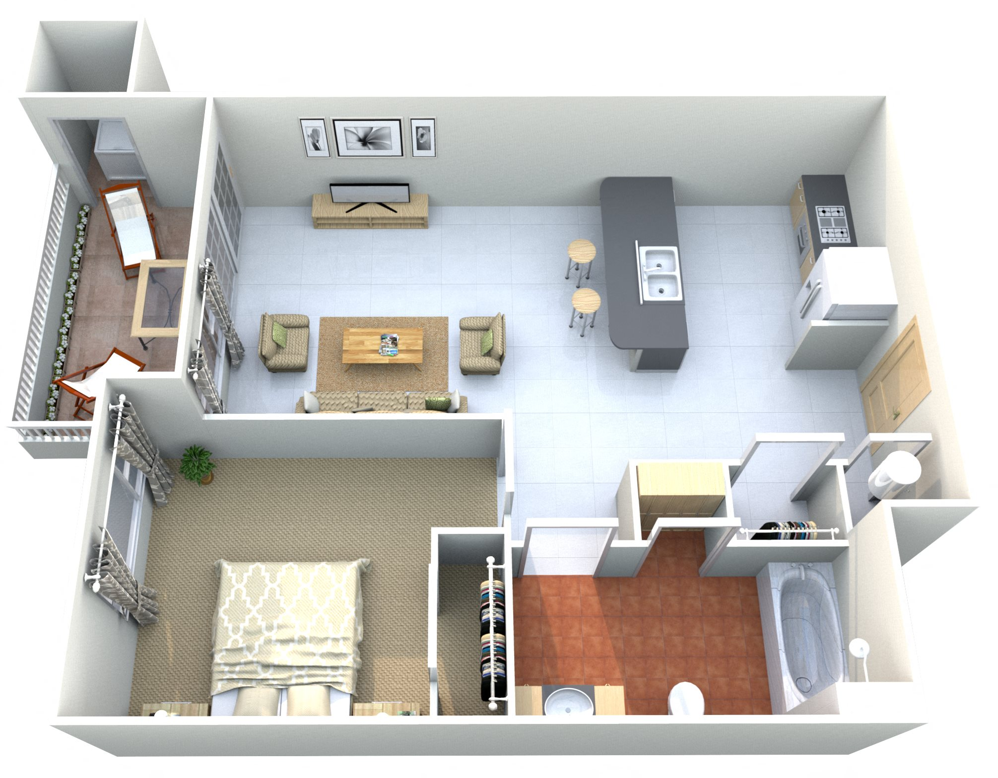 Goode Mountain Floor Plan 1