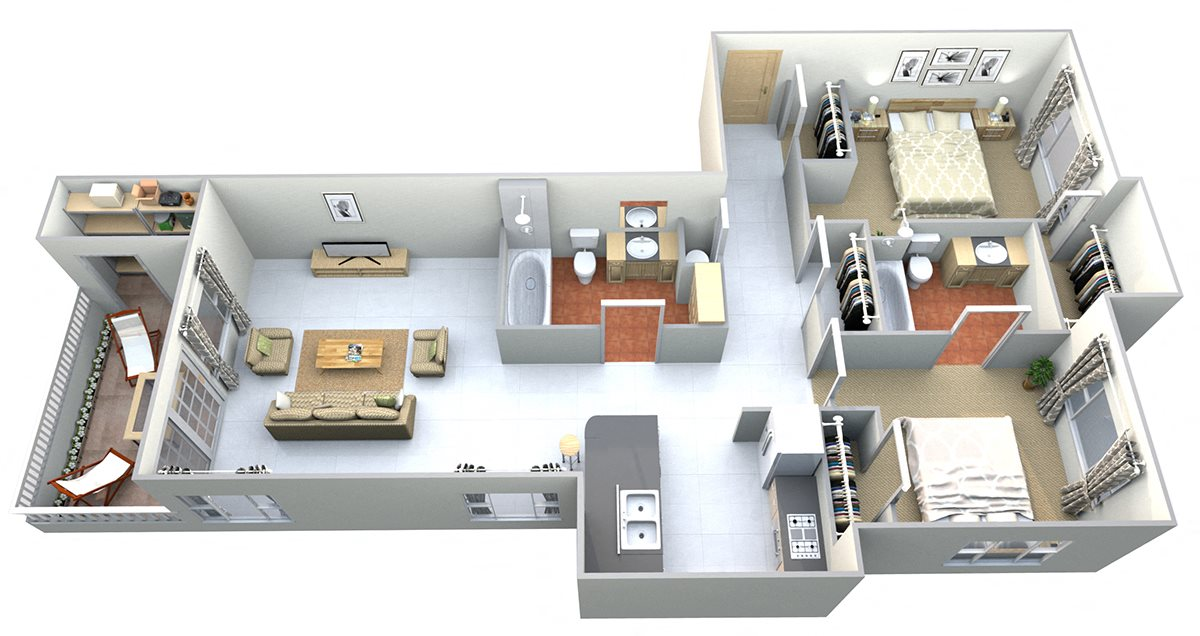 Gunn Peak Floor Plan 6