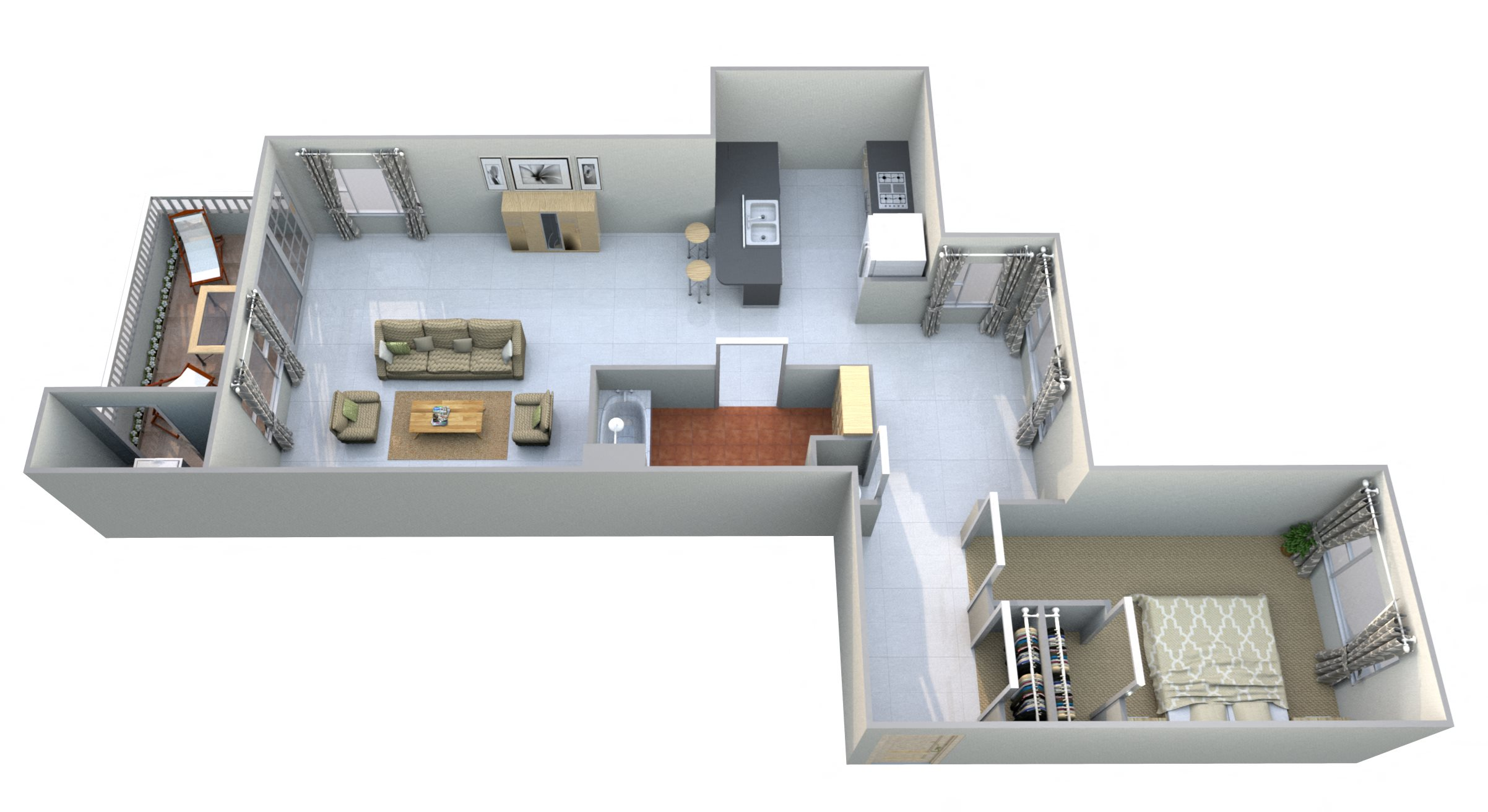 Liberty Mountain Floor Plan 3