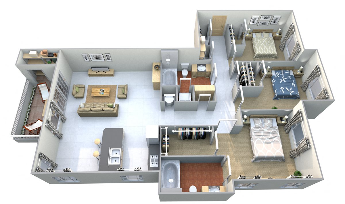 Mount Aix Floor Plan 13