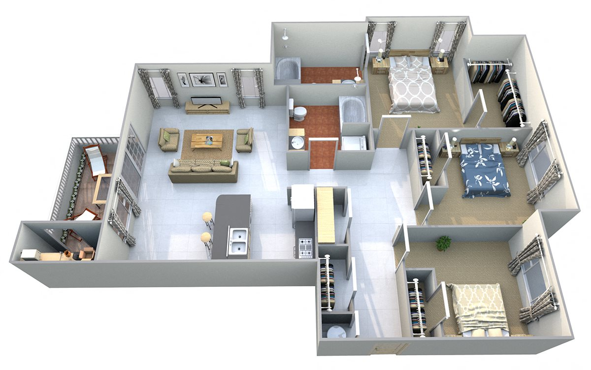 Mount Prophet Floor Plan 14