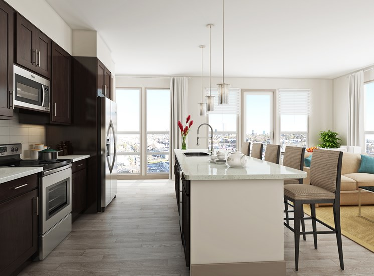 Luxury Apartments with Stylish Kitchen- Azure Houston
