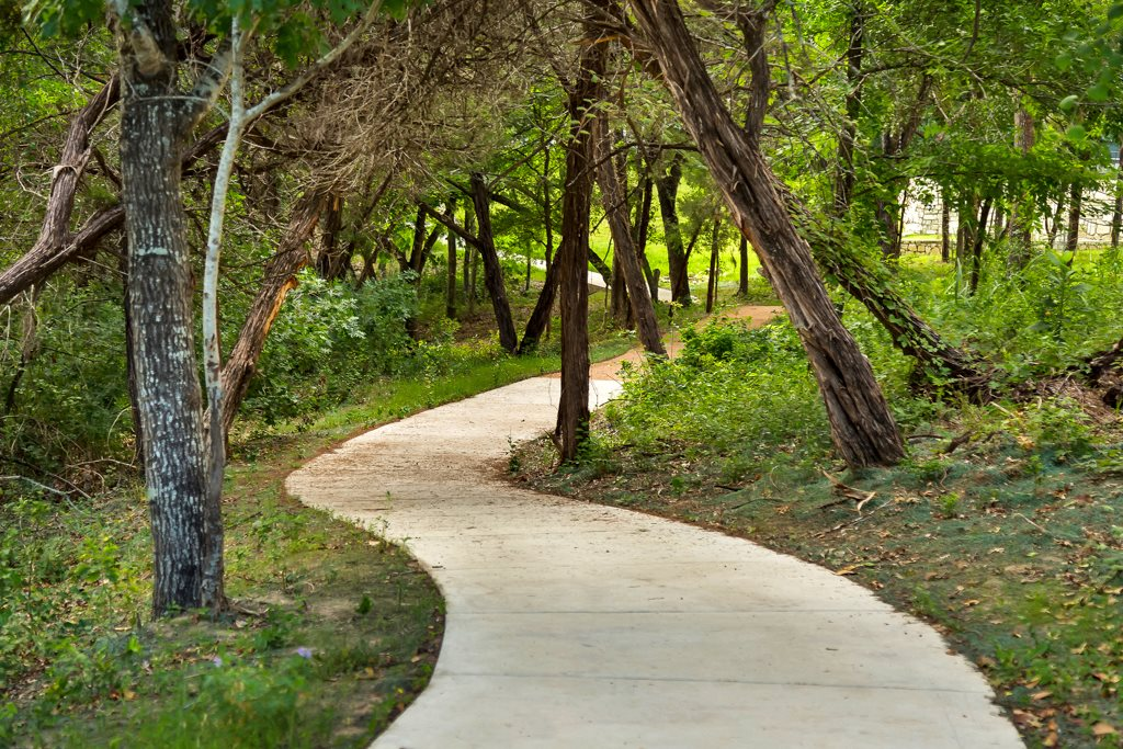 Private Walking/Jogging /Biking Trails
