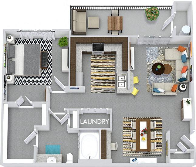 Floor Plans Of Bexley 3Five In Austin, TX