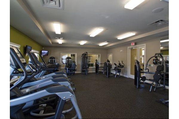 24-hour fitness center at Phillips Mallard Creek Apartments, NC