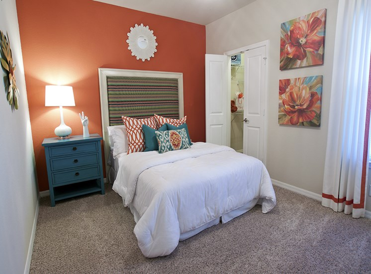 Live in cozy bedrooms at Phillips Mallard Creek Apartments, North Carolina