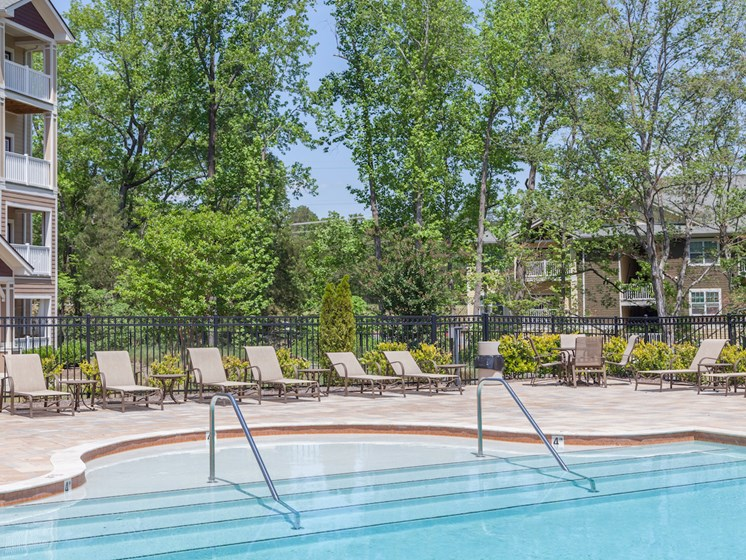 Resort-Style Pool at Phillips Mallard Creek Apartments, North Carolina 28262