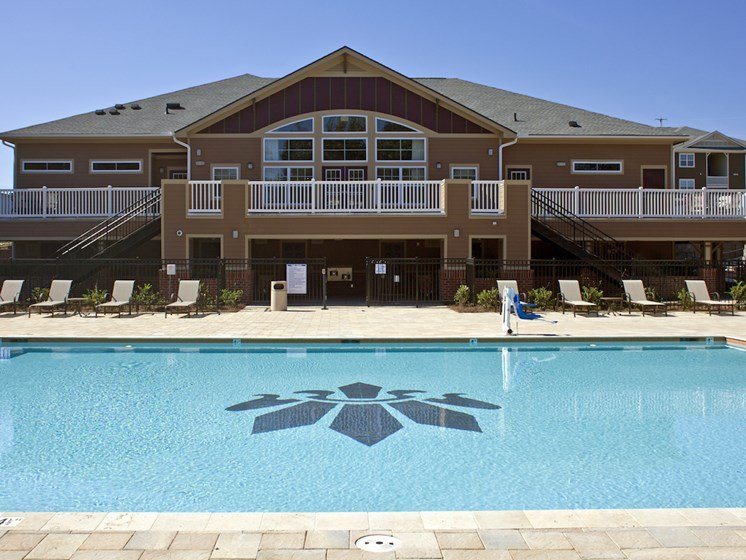 Pool Deck Club House at Phillips Mallard Creek Apartments, NC 28262