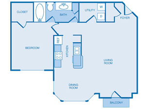 A2 - 1 Bedroom with Sunroom