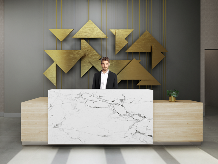 Front Desk at The Kent, Chicago, 60614