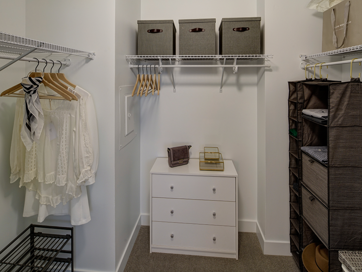 Walks in Closets at The Kent, Illinois, 60614