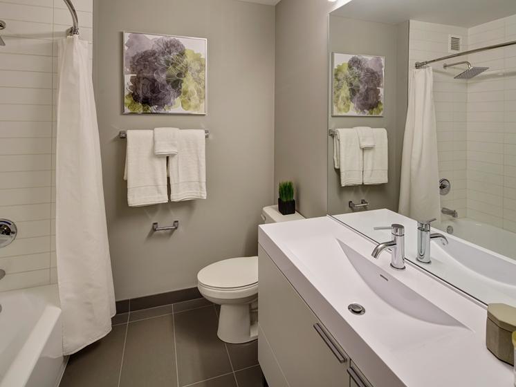 Premium Bathroom at The Kent, Chicago