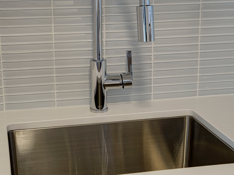 Upgraded Faucets at The Kent, Chicago, IL, 60614