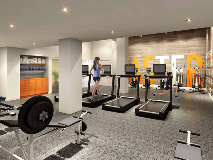 Fitness Center at The Kent, Chicago Illinois