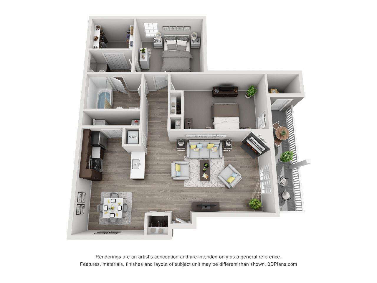 Dover Floor Plan 3