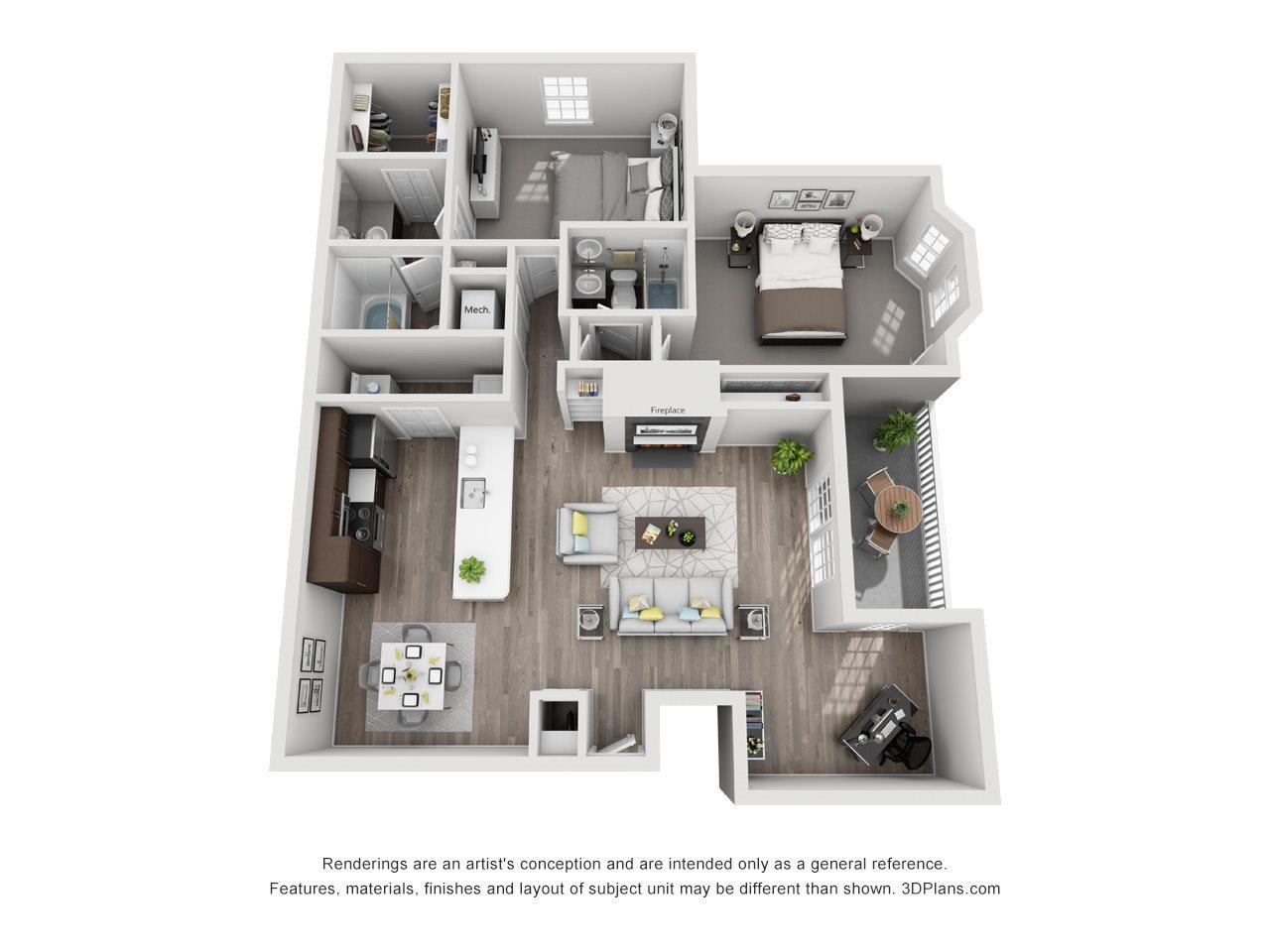 Greenwich Floor Plan 5