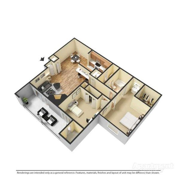 Dover - Renovated Floor Plan 5