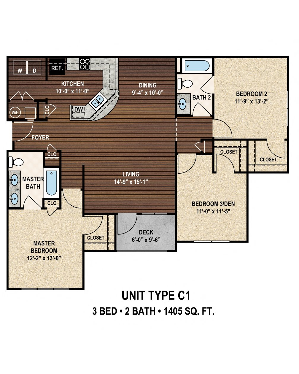 Luxury 1, 2 & 3 Bedroom Apartments In Columbia, SC