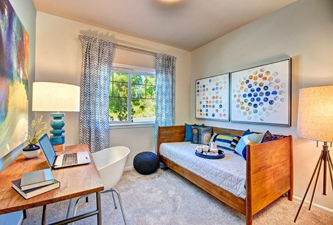 Spacious Bedroom at The Arbors at Edgewood Apartments, 10304 20th Street E, Edgewood, WA