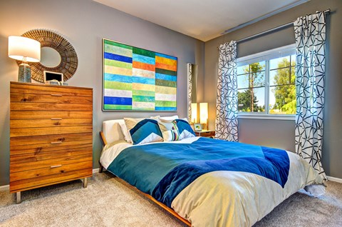 Luxurious Master Bedroom at The Arbors at Edgewood Apartments, Edgewood, Washington