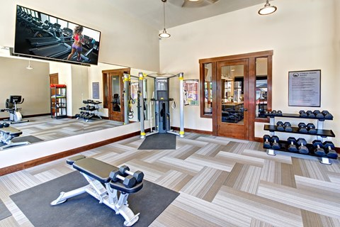 Fitness Center at The Arbors at Edgewood Apartments, Edgewood, 98372