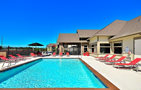 Sparkling Pool at The Arbors at Edgewood Apartments, Washington, 98372