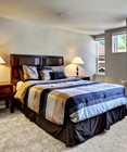 Private Master Bedroom With Oversized Windows at The Villas in Bellevue Apartments, Bellevue, 98007
