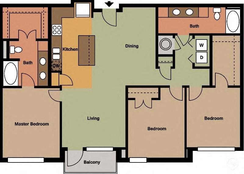 C1 Floor Plan 9