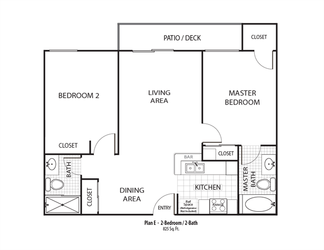 Monterey Floor Plan 4