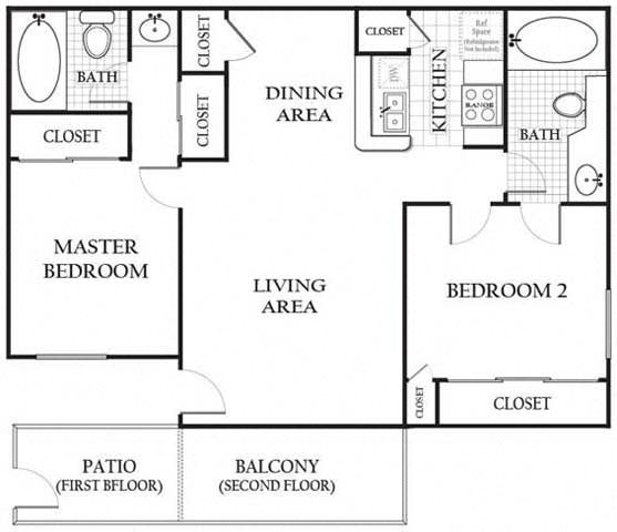 Apartments In Simi Valley: Floor Plans Of Americana Simi Valley In Simi Valley, CA