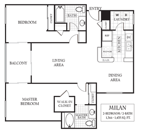 Sherman Oaks Apartments: Floor Plans Of Regency At Sherman Oaks In Sherman Oaks, CA