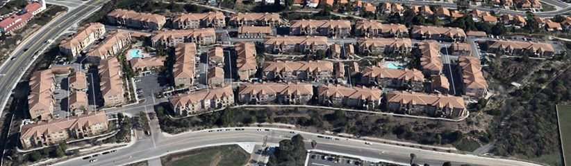 Aerial View of Siverado Apartment Homes - Murrieta, CA