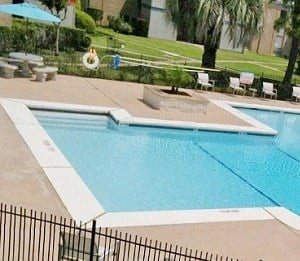 View of Pool at Soutwest Village Apartments