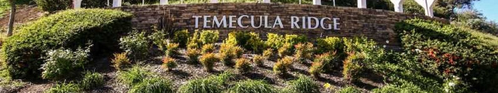 Temecula Ridge Apartments - Front Monument