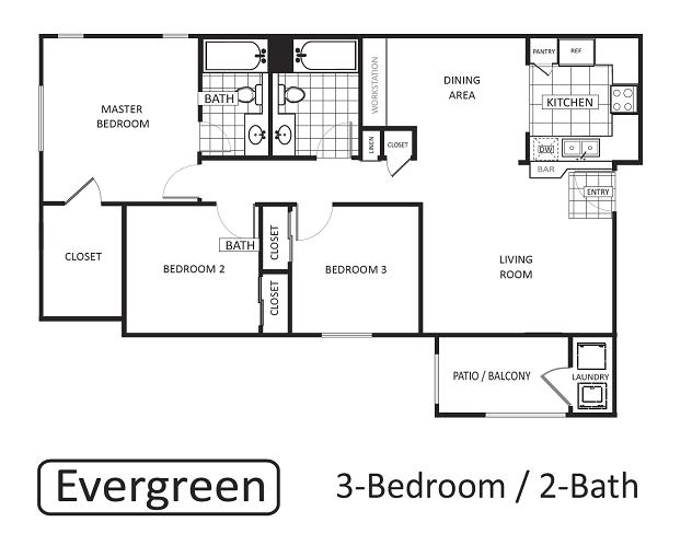 Evergreen Floor Plan 5
