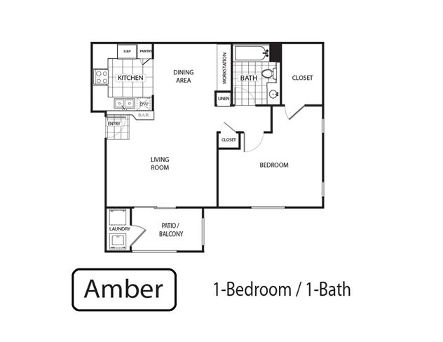 Amber Floor Plan 1