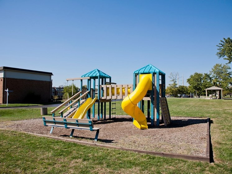 Outside Playground at Lawrence Landing, Indianapolis, IN, 46226