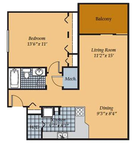 Barrington Apartments for rent in Manassas VA